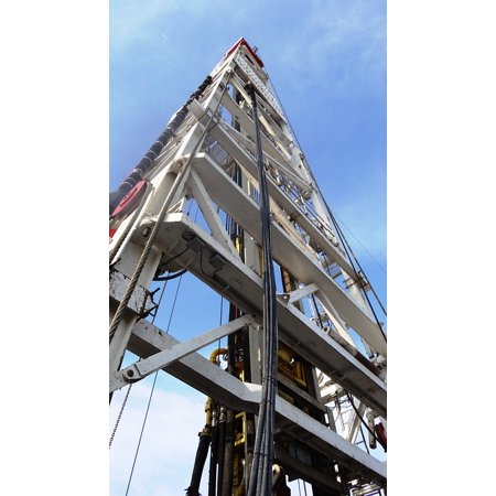 Laminated Poster Drilling Rig Search Natural Gas Oil Rig Poster Print 24 X 36