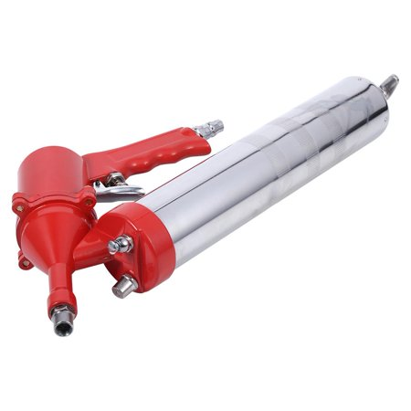 Greensen Manual One-Hand Pistol Grip Air Pneumatic Compressor Pump Grease Gun W/ Extension Set Home Tool ()