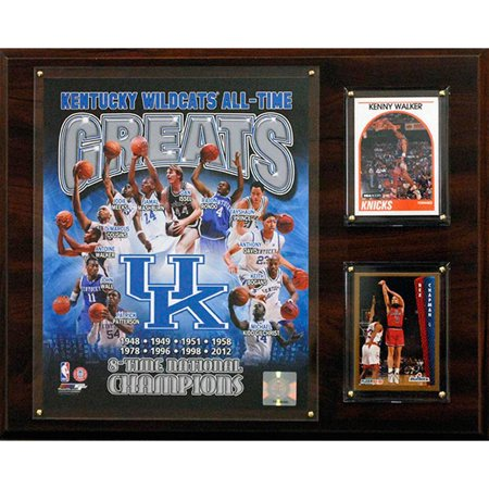 C&I Collectables NCAAB 12x15 Kentucky Wildcats All-Time Greats Photo - Kentucky Wildcats Furniture