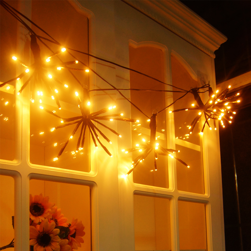 LED String Lights 100 LEDs Wedding Party Fairy String Light Lamp 6.6ft 8 Lighting Modes for Indoor Outdoor Home Party Garden Christmas Wedding Valentine's Day and other Holidays