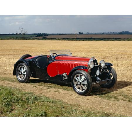 1932 Bugatti Type 55 Super Sport Roadster Modifie Country of origin France Poster Print
