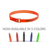 """Voile Straps - 25"""" Aluminum Buckle Orange"""