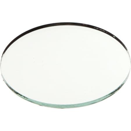 Non Breakable Mirror (Plymor Round 3mm Non-Beveled Glass Mirror, 3 inch x 3)