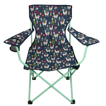 Ozark Trail Llama Folding Quad Camping Kids Chair