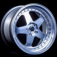 "JNC Wheels - 18"" JNC010 Silver Machined Face Rim - 5x114.3 - 18x9 inch JNC010SMF"