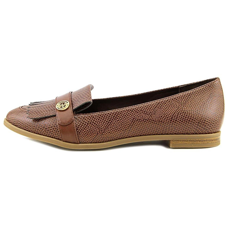 Giani Bernini Womens Petaa Leather Closed Toe Loafers