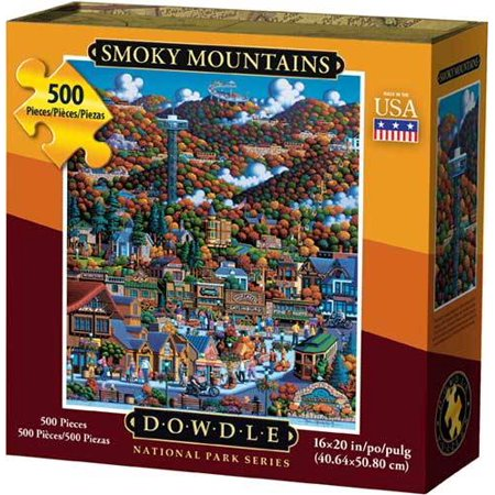 Dowdle Jigsaw Puzzle Smoky Mountain National Park 500