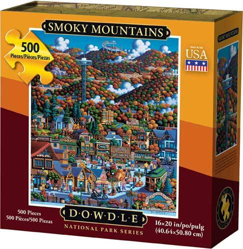 Dowdle Jigsaw Puzzle Smoky Mountain National Park 500