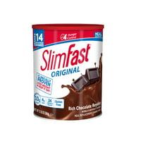 SlimFast Original Meal Replacement Shake Mix, Rich Milk Chocolate, 12.83 Oz
