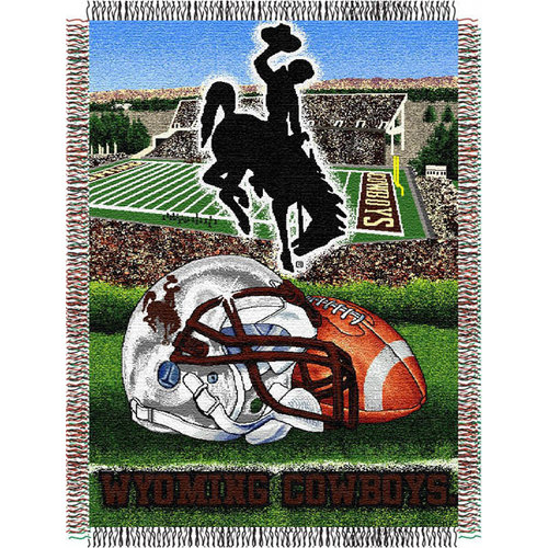 NCAA - Wyoming Cowboys 48x60 Home Field Advantage Tapestry Throw