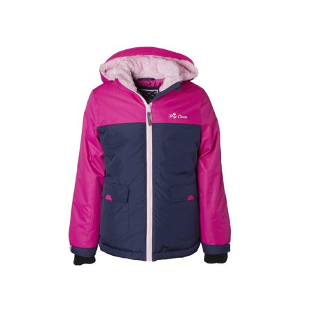 Big Chill Parka Jacket with Fur Lined Hood (Big Girls) ()