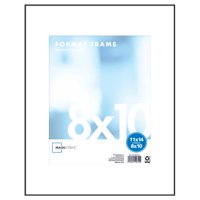 "Mainstays 11"" x 14"" Format Picture Frame, Black"