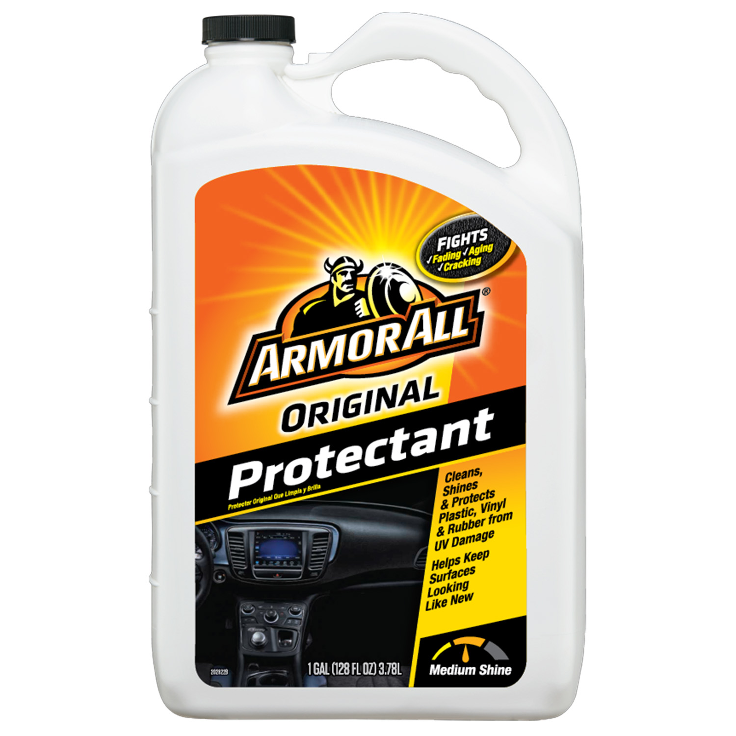 Armor All ARM 10710 Original Protectant, 1gal Bottle, 4/carton
