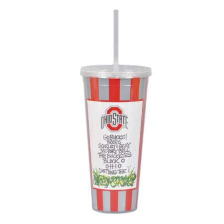Ohio State University 22oz Tumbler with Straw