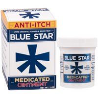 Blue Star Medicated Ointment, 2 oz
