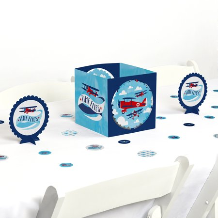 airplane - party centerpiece & table decoration - Airplane Party