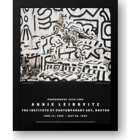 Keith Haring 28x34 Framed Art Print by Leibovitz, Annie