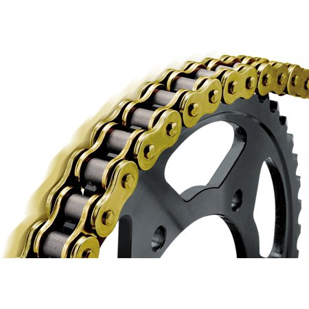 BikeMaster 525 BMXR Series Sealed Chain 130 Links Gold