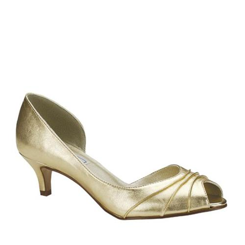 Touch Ups Womens Abby Gold 12 M by
