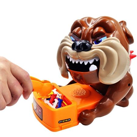 Funny Trick Toys Beware Of The Dog Interactive Table Toys Electric Dog Sound Board Game Dont Take Dogs Bones Risk Game For Adult Kids