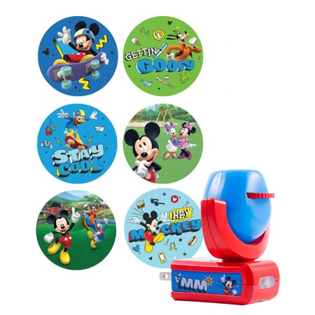 Projectables® 6-Image LED Plug-In Night Light, Disney® Mickey Mouse & the Roadster Racers, 11739