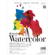 """Strathmore 11"""" x 15"""" Cold Press Tape Bound Watercolor Pad"""