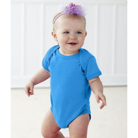 Rabbit Skins 4424 Baby Solid Infant Fine Jersey Creeper Onesie - Halloween Royal Baby