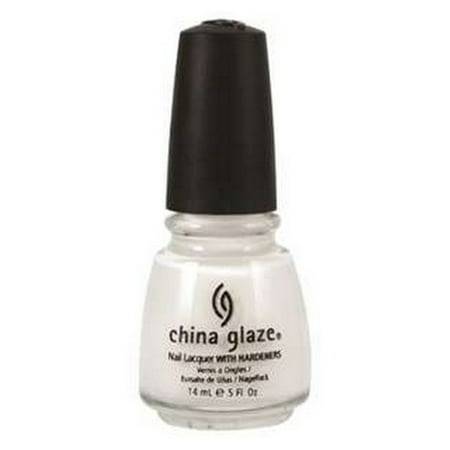 CHINA GLAZE Nail Lacquer with Nail Hardner 2 - Snow (3 Paquets) - image 1 de 1