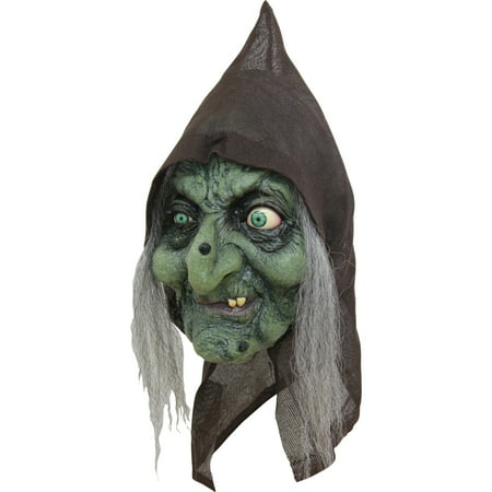 Old Hag Latex Mask Adult Halloween Accessory - Foam Latex Mask