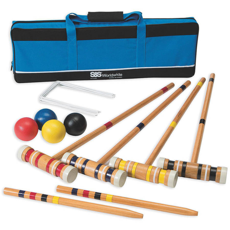 Recreational 4 Player Croquet Set