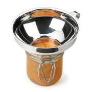 RSVP Endurance 18/8 Stainless Steel Wide Mouth Canning Funnel - Dishwasher Safe