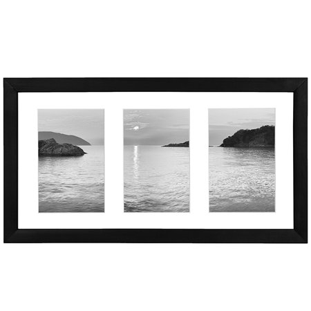 Americanflat Collage Picture Frame - Displays Three 4x6 Photos ...