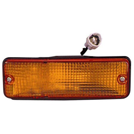 1985 Toyota Tercel Wagon - Compatible 1985 - 1988 Toyota Tercel Turn Signal Light Assembly / Lens Cover - Front Left (Driver) Side - (4 Door; Wagon) 94841779 TO2530113 Replacement For Toyota Tercel