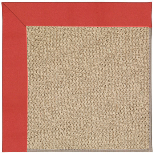 CAPEL Rugs Zoe Machine Tufted Sunset Red/Brown Indoor/Out...