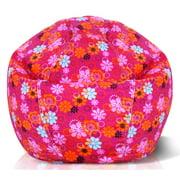 Milton Greens Stars Flower Power Print Bean Bag