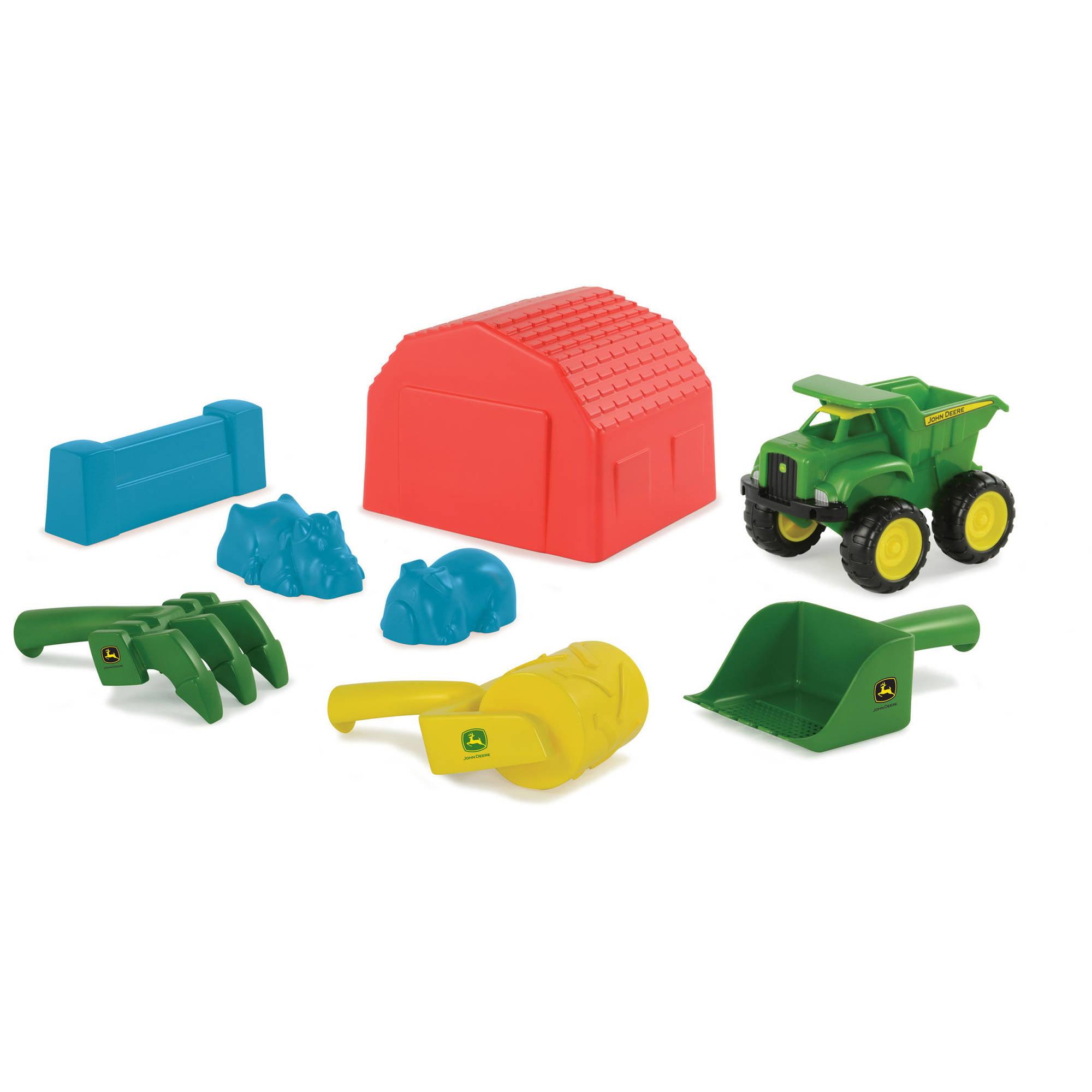 TOMY John Deere Sand Toy Set Walmart