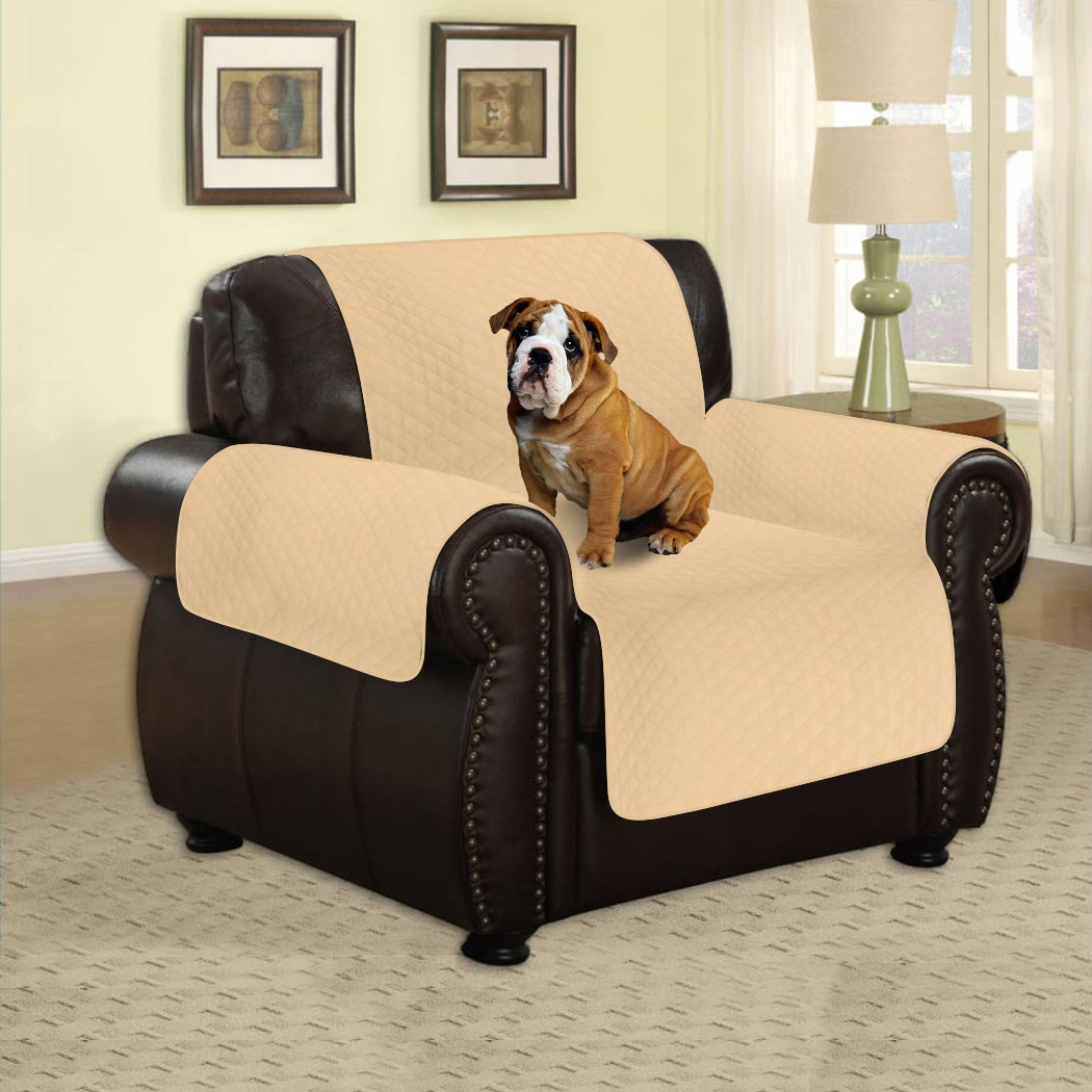 Micro Fiber Chair Sofa Slipcover Single Seat Sofa Cover Pet Dog Furniture  Couch Protector