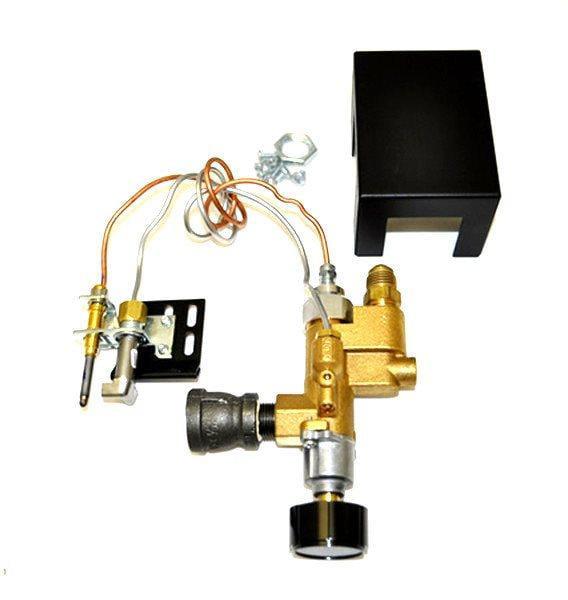 RH Peterson Fireplace Valve Gas Nat HPC Low Profile Manua...