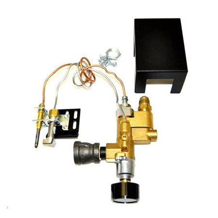 Manual Valve Safety Pilot - Fireplace Valve Gas Nat HPC Low Profile Manual Safety Pilot Kit SPK-85