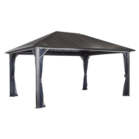 Sojag Genova 12x16 Gazebo Galvanised Steel Roof