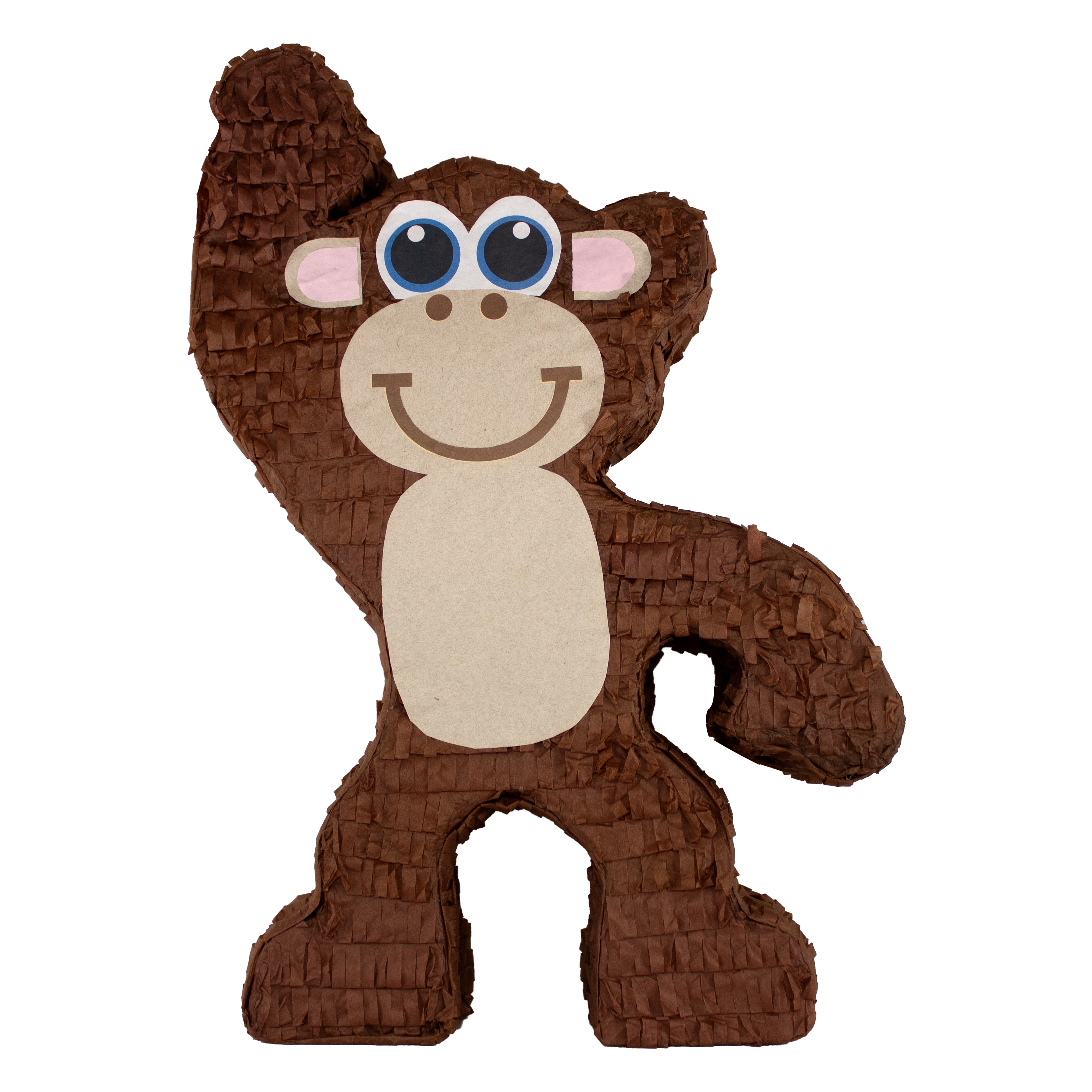Monkey Party Pinata, Hand Crafted with Traditional Techniques