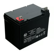Chauffer Mobility Chauffer Series Viva Power heavy duty mini Battery - This is an AJC Brand® Replacement