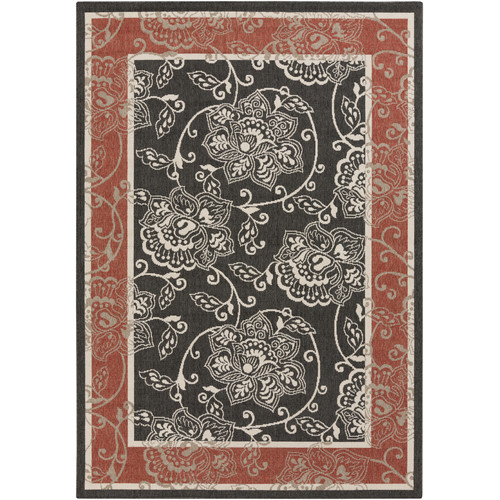 Surya Alfresco Taupe Area Rug