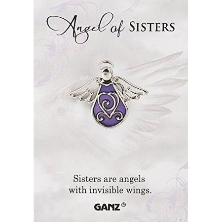 Pin - Angel of Sisters (Heartfelt Angel Pin)