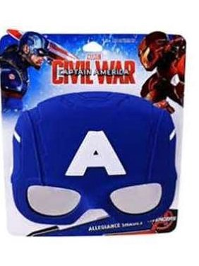 Disney Captain America Sunstache Sunglasses