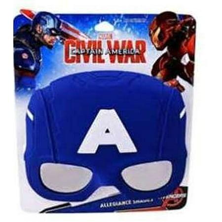 Disney Captain America Sunstache (Kids Sunglasses Brands)