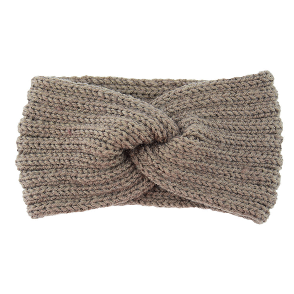 Outtop Women's knitted headband crochet winter warmer lady hairband Hair Band headwrap