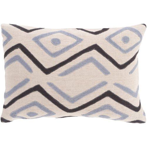 Bloomsbury Market Anders 100pct Linen Lumbar Pillow Cover
