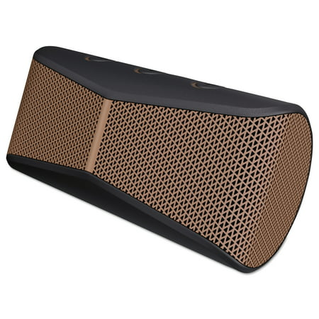 Logitech X300 Mobile Wireless Stereo Speaker, Black Powerful, go-anywhere sound: Deep bass response with detailed mid- and high-range in a compact design.