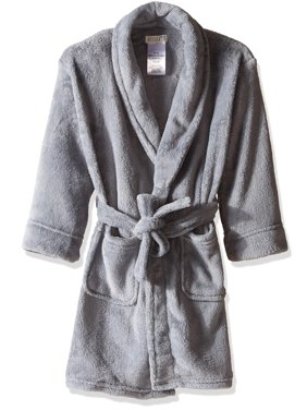 ca0a705cd9 Product Image Komar Kids Boys  Fleece Robe Solid Gray